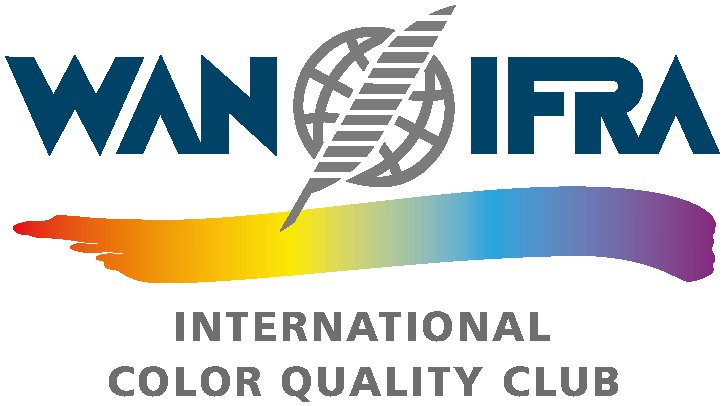 international newspaper color quality club logo